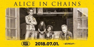 Alice In Chains a Budapest Parkban!
