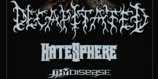 Decapitated, Hatesphere a Durer Kertben