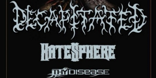 Decapitated, Hatesphere a Durer Kertben<br><small><small><small>