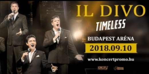 Il Divo - Timeless Tour<br><small><small><small>