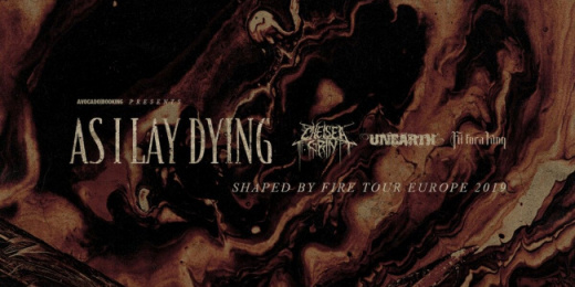 As I Lay Dying, Unearth, Chelsea Grin Budapesten<br><small><small><small>