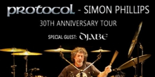 Protocol &#8211; Simon Phillips 30th Anniversary Tour<br><small><small><small>